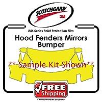 キットfor Toyota–3M 846Scotchgardペイント保護フィルム–フードバンパーフェンダーミラー