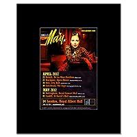 IMELDA MAY - UK Tour 2012 Mini Poster - 13.5x10cm