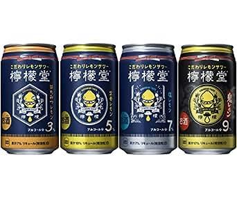 檸檬堂 4種類飲みくらべセット [ チューハイ 350ml×20本 ]