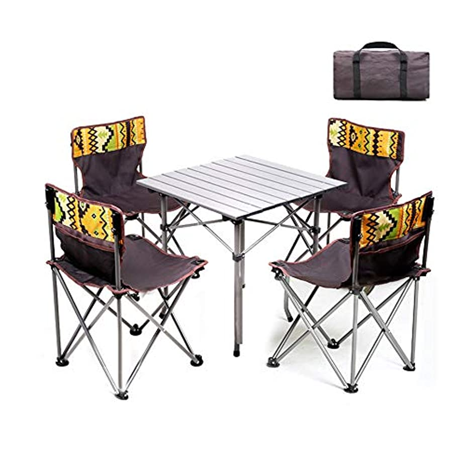 泥棒ファンタジー申込みバックパック椅子とテーブル、キャンプテーブル & 椅子、屋外キャンプ、旅行、ビーチ、ピクニック、祭り、ハイキング、軽量バックパックのためのポータブル軽量コンパクトな家具、