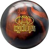 Radical Cyclopsボーリングボールブラックソリッド/銅パール、15ポンド