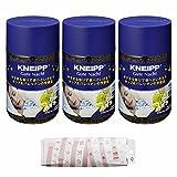 クナイプ グーテナハトバスソルト ホップ&バレリアンの香り 850G 3本+磁気のブラストラップ ピンク セット