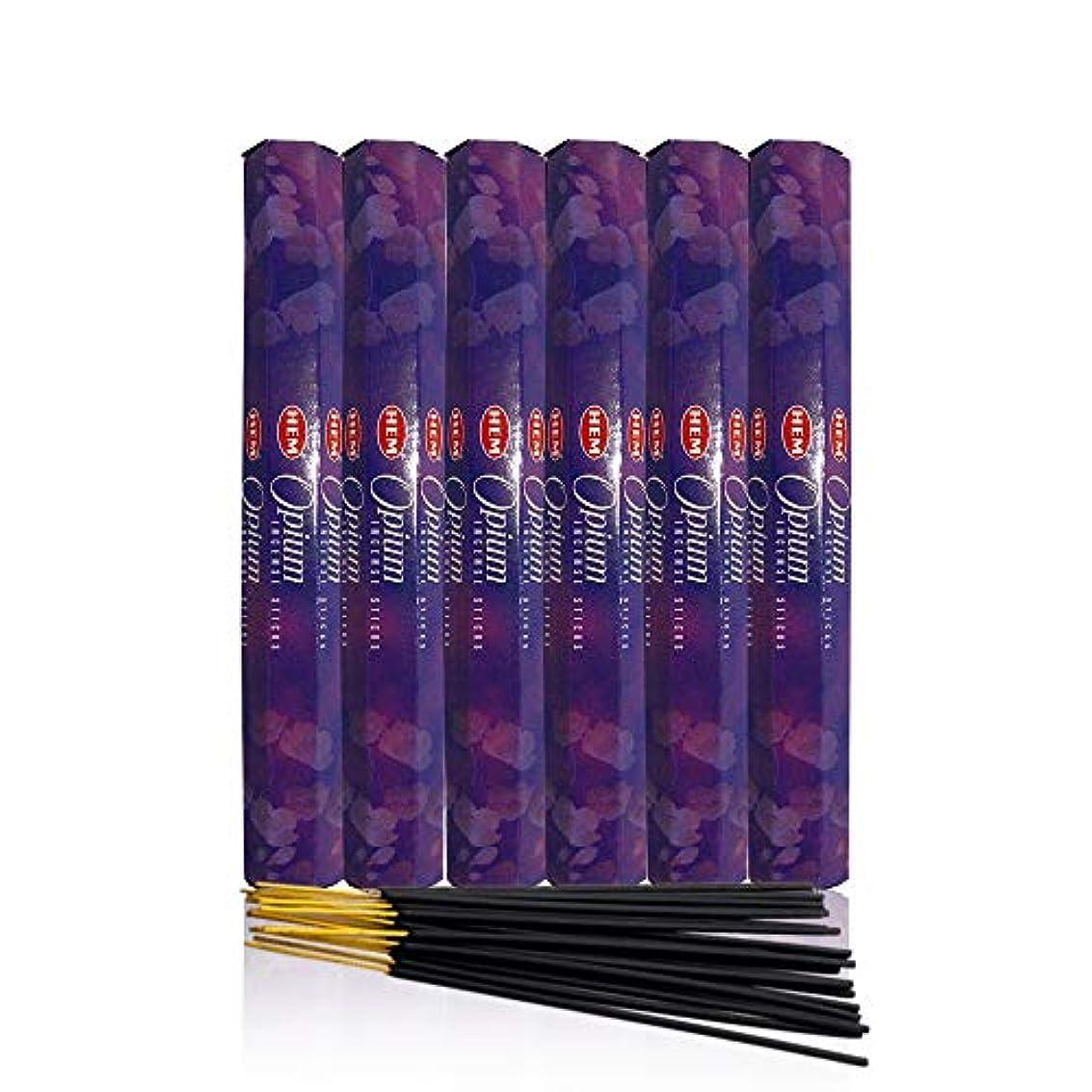 前置詞ページトランスミッションOpium – ボックス6つの20グラムチューブ – 裾Incense