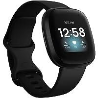 Fitbit Versa3 Smartwatch with Alexa/GPS (Black, L/S) Size