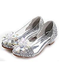 Forpend S103 発表会 靴 フォーマルシューズ 女の子 ドレス シンデレラクリスタルシューズ プリンセス お嬢様 靴