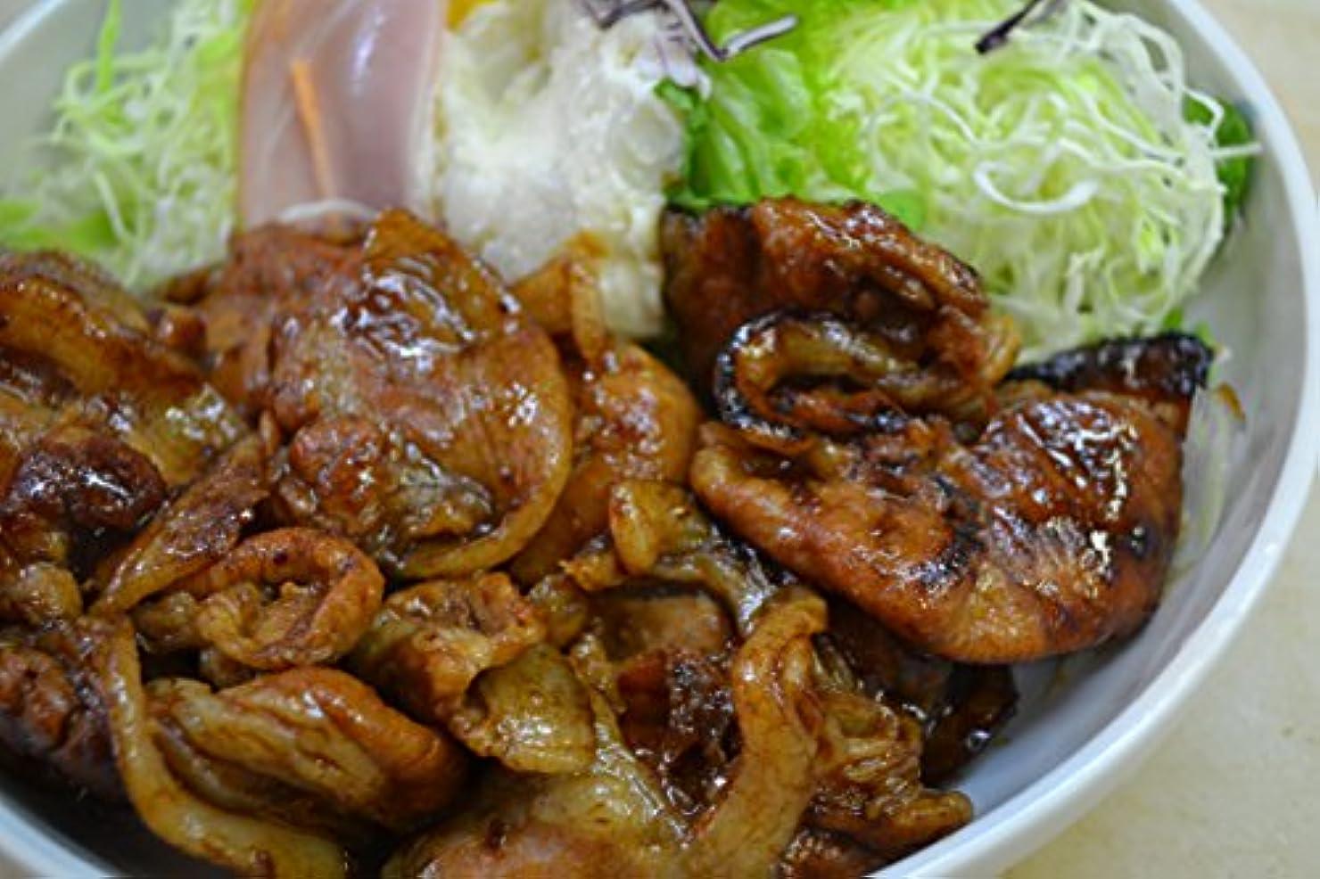 ピルファーオフセット設計図豚肉 豚ロース 生姜焼き 1kg 味付き(自家製ダレパック そのまま焼くだけ) 1000g ご飯のお供に最高 【 国産豚ロース 焼肉 簡単調理 】
