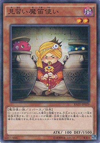 見習い魔笛使い ノーマル 遊戯王 レイジング・テンペスト rate-jp009