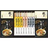 お歳暮 そば 蕎麦 人気商品 ラッピング済 (松茸つゆで食べる 麺 詰合せ RUS30)
