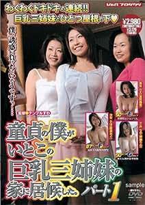 童貞の僕がいとこの巨乳三姉妹の家に居候した。パート1 [DVD]