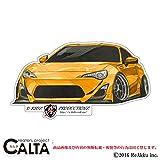 CALTA-ステッカー-86改-FRONT (1.Sサイズ)