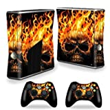 マイティースキンズカバーfor Microsoft Xbox 360Sスリム+ 2コントローラスキンラップステッカースキンホットヘッド