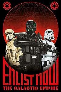 Star Wars Rogue One スター ウォーズ ストーリー ローグ ワン ポスター エンリスト ナウ 240