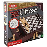 Ideal Premium Wood Cabinet Chess [並行輸入品]