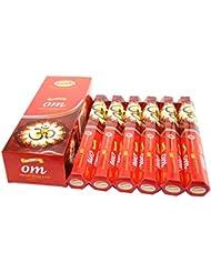 Govinda ® Incense – Om – 120 Incense Sticks、プレミアムIncense、Masalaコーティング