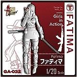 トリファクトリー 1/20 ガールズインアクションシリーズ ファティマ レジンキット GA-032