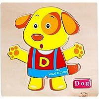 YChoice 知育パズル キッズ 木製パズル 教育学習玩具 素晴らしいギフト キッズ(ドッグ)