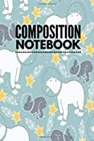 """Composition Notebook: College Ruled 6"""" x 9"""" Artic Polar Bear Design Writing Notes Journal,Office,Kids,School and college student"""