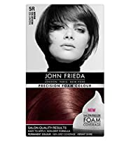 ミディアム赤茶色5Rジョン・フリーダ精密泡カラー (John Frieda) (x2) - John Frieda Precision Foam Colour 5R Medium Red Brown (Pack of 2) [並行輸入品]