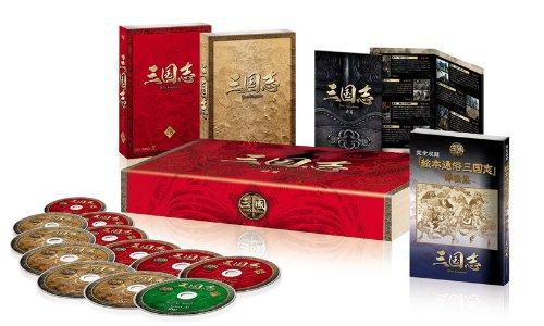 三国志 Three Kingdoms 前篇 DVD-BOX (限定2万セット) / チェン・ジェンビン, ルー・イー, ユー・ホーウェイ, チャン・ボー, ビクター・ホァン (出演); ガオ・シーシー (監督)