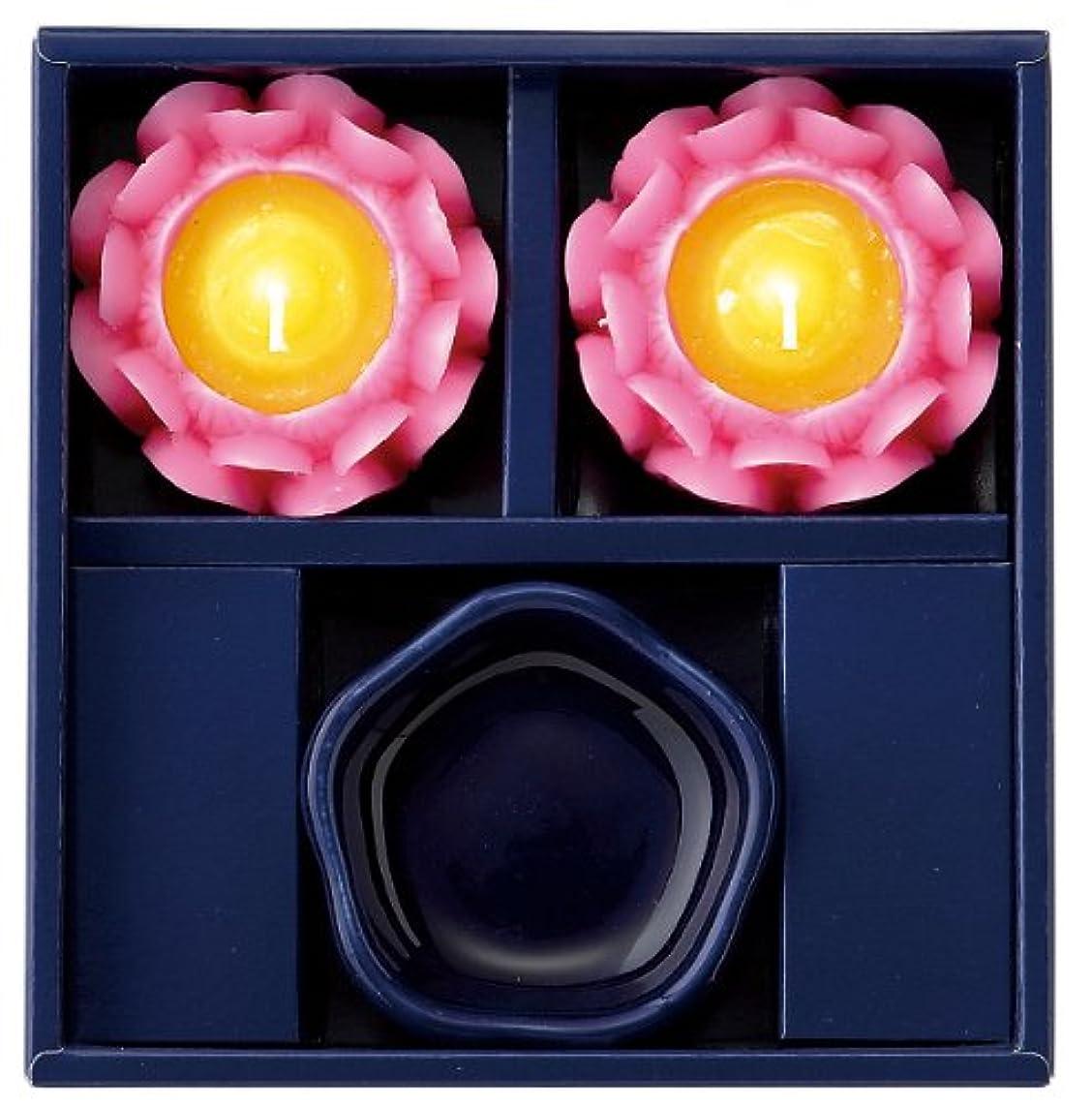 ペイントシャープ鉛筆マルエス 蓮の花進物セット ピンク