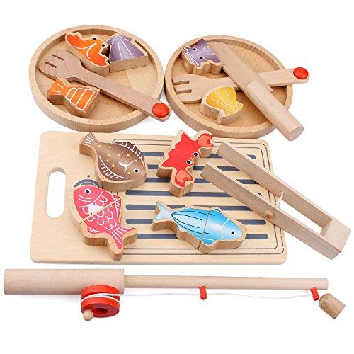 Flycreat 魚釣り ゲーム おもちゃ 知育 玩具 釣り...