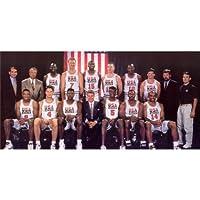 USAドリームチームポスターbyシルク印刷#サイズについて( 122cm X 60cm、49インチx 24インチ) # Uniqueギフト# fb8691