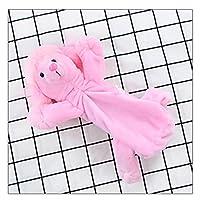 (ボラ-キキ) Bole-kk かわいい ペンケース 鉛筆袋 ペンポーチ ぬいぐるみ 小物入れ 収納 文房具 筆箱 小学生 おしゃれ 高校生 おもちゃ 化粧入れ ポーチ 大容量 (ピンク)