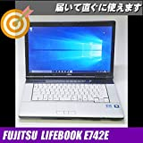 富士通 LIFEBOOK E742 コアi5-3320M 周波数2.60GHz Windows7-Pro 32Bit メモリ4GB HDD250GB