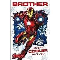 アベンジャーズ ブラザーアイアンマン クリスマスカード