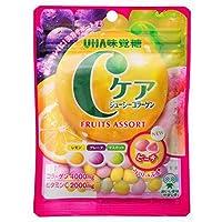 味覚糖   Cケアジューシーコラーゲン フルーツアソート  60G×10袋