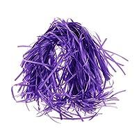 SM SunniMix 充填ティッシュ 細断紙 ラフィアペーパー 包装填充 ギフト バスケット 充填 約20G入り 全5カラー - 紫の