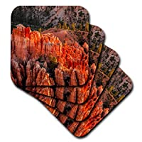 3drose Danita Delimont–ユタ州–Rock Formations、ブライス・キャニオン国立公園、ユタ州、アメリカ合衆国。–コースター set-of-4-Ceramic cst_260338_3
