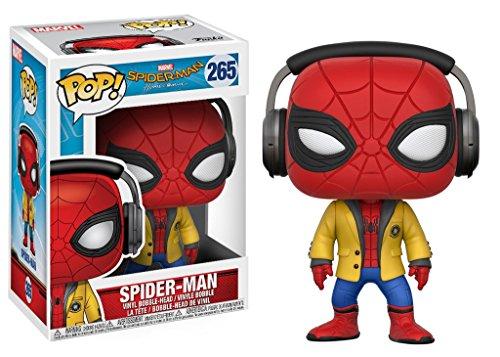 Marvel(マーベル) Spider-Man:Homecoming(スパイダーマン:ホームカミング) スパイダーマン width ヘッドフォン FUNKO/ファンコ POP MARVEL VINYL ボブルヘッド [並行輸入品]