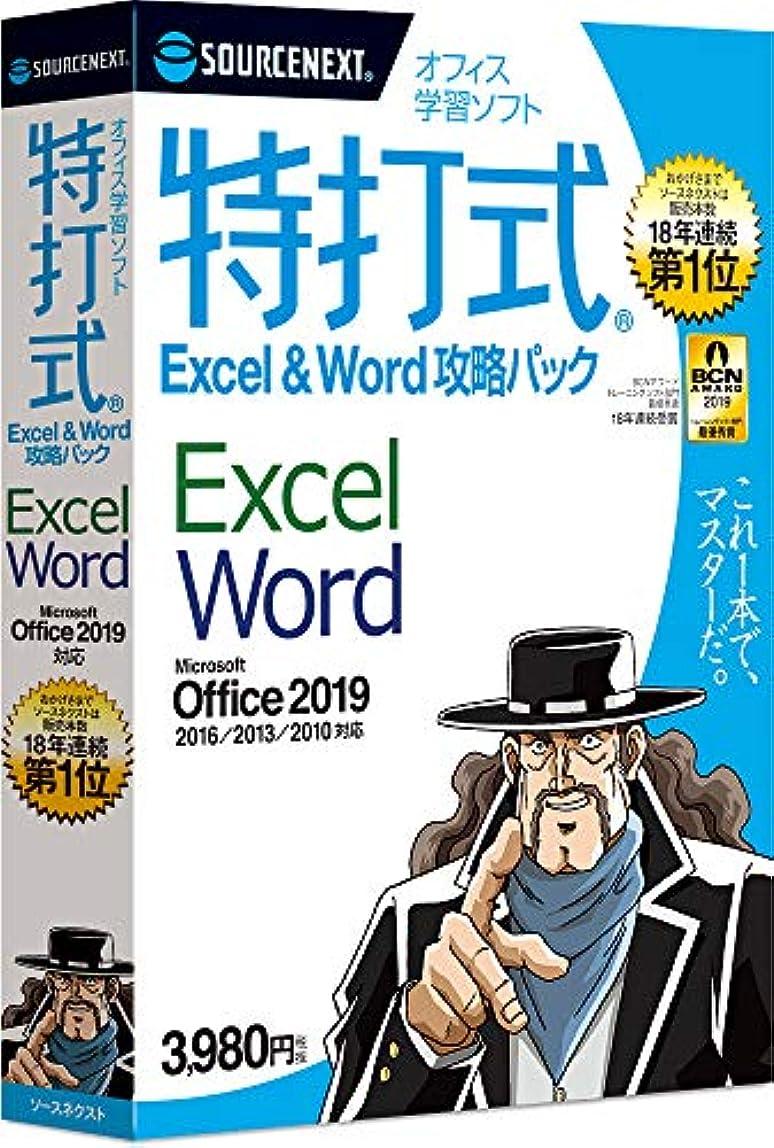 蒸気関係誓い特打式 Excel&Word攻略パック Office2019対応版  (最新)|win対応|ダウンロード版