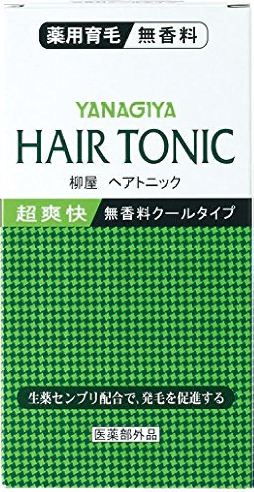 砲撃フレキシブル地球柳屋ヘアトニック<無香料クールタイプ>240ml