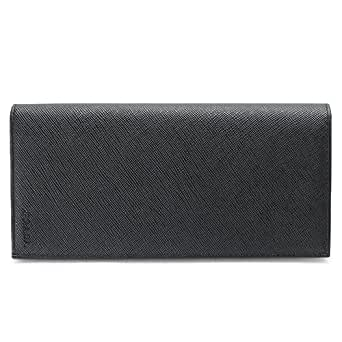 (プラダ)PRADA 長財布 2MV836 053 F0002/SAFFIANO NERO 財布 二つ折り サフィアーノ/型押しレザー ブラック (旧モデル:2M0836)[並行輸入品]