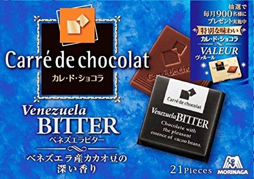 森永製菓 カレ・ド・ショコラ ベネズエラビター 21枚入