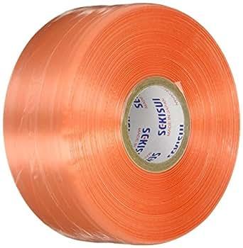積水 レコード巻 500m オレンジ R550D | 梱包紐・梱包バンド | 産業・研究開発用品 通販