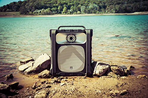 Altec Lansing IMT802-BLG Sonic Boom Waterproof Speaker - Black/ Grey [並行輸入品]