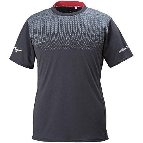 ミズノ サッカー 半袖プラクティスシャツ MOフィールドシャツ P2MA800209 ブラック