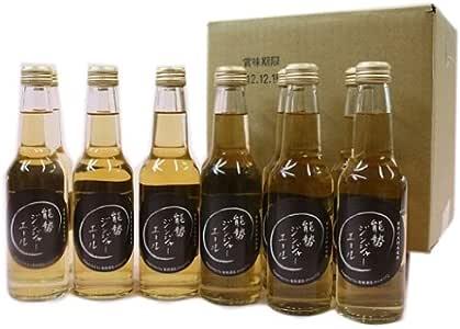 能勢酒造 能勢スパークリングジンジャーエール 250ml瓶×24本入
