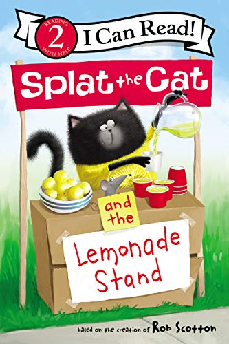 Splat the Cat and the Lemonade Stand (I Can Read Level 2) (English Edition)