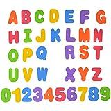 Nice Days(ナイス ディズ) 子ども知育おもちゃ お風呂のおもちゃ アルファベット数字  パズル