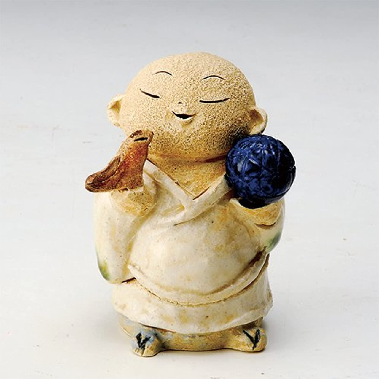 お地蔵様 香炉シリーズ 鳥と毬地蔵 香炉(小) [H10cm] HANDMADE プレゼント ギフト 和食器 かわいい インテリア