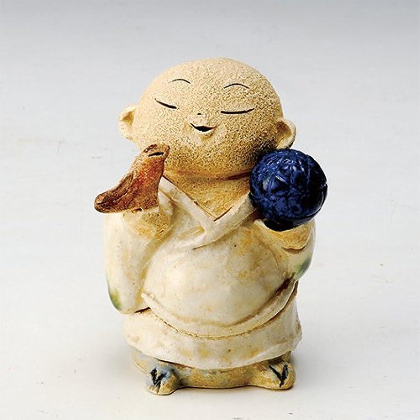 普通の彼女は磨かれたお地蔵様 香炉シリーズ 鳥と毬地蔵 香炉(小) [H10cm] HANDMADE プレゼント ギフト 和食器 かわいい インテリア