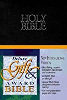 Holy Bible, New International Version: Deluxe Gift & Award Bible/Black