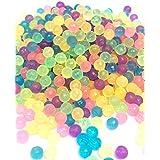 万用不可思议的串珠透明款 マジカルボール 丸型补充包6色拼色串珠600个装