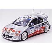 タミヤ 1/24 スポーツカーシリーズ プジョー206 WRC 2002