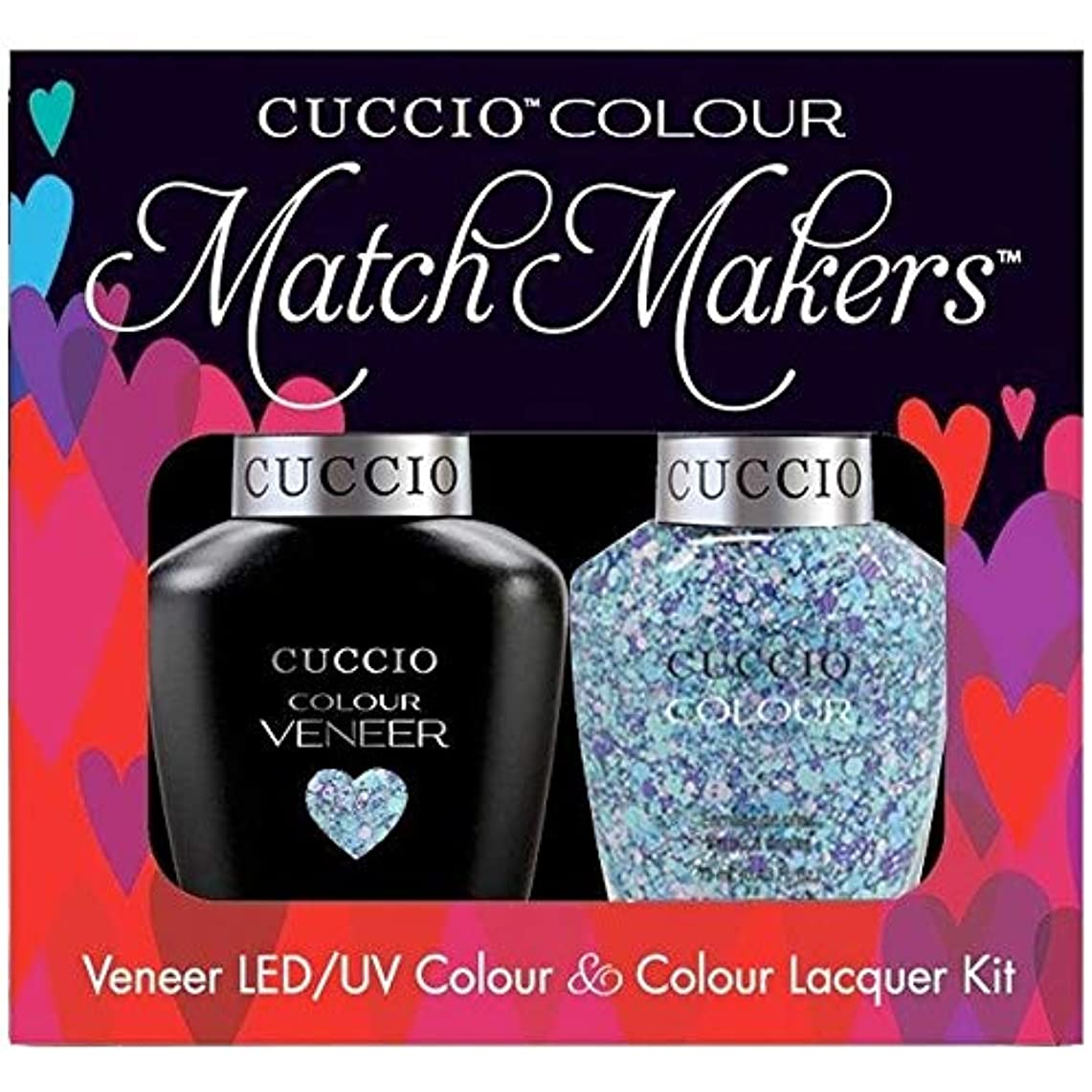 繁栄オリエンテーション磨かれたCuccio MatchMakers Veneer & Lacquer - A Star is Born - 0.43oz / 13ml Each