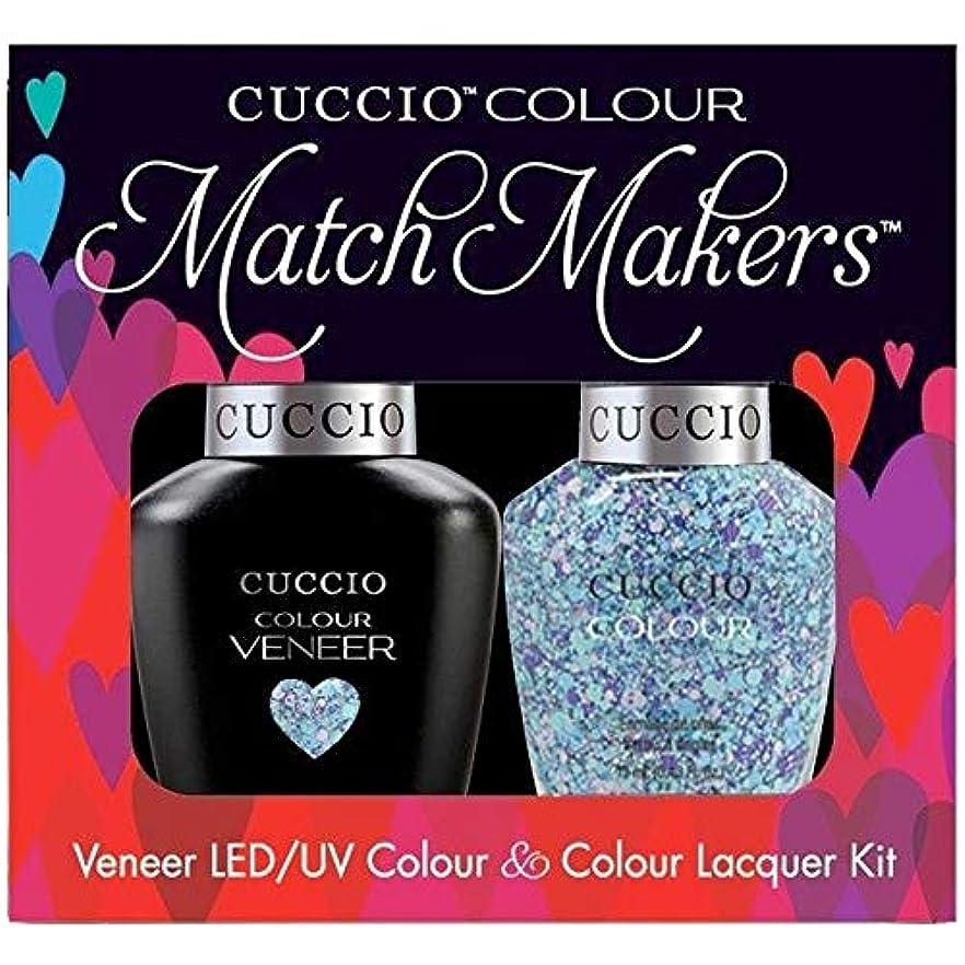 ルーチン汚い間違えたCuccio MatchMakers Veneer & Lacquer - A Star is Born - 0.43oz / 13ml Each